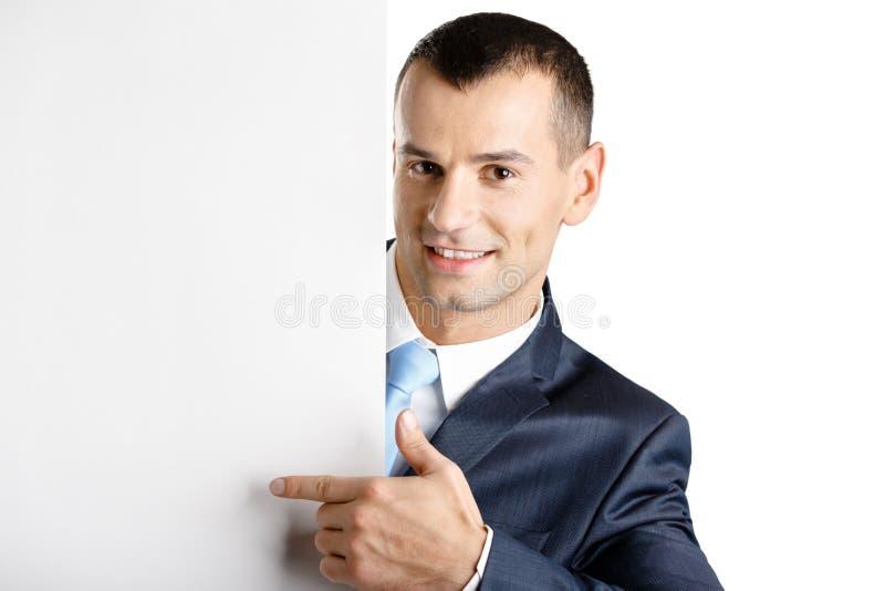 Pontos do gerente no espaço da cópia em papel fotos de stock