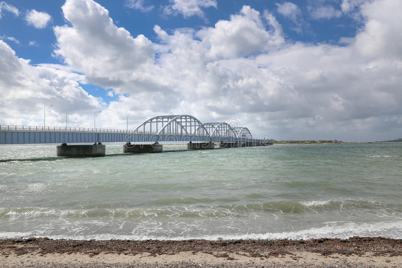 Ponts au Danemark photo stock