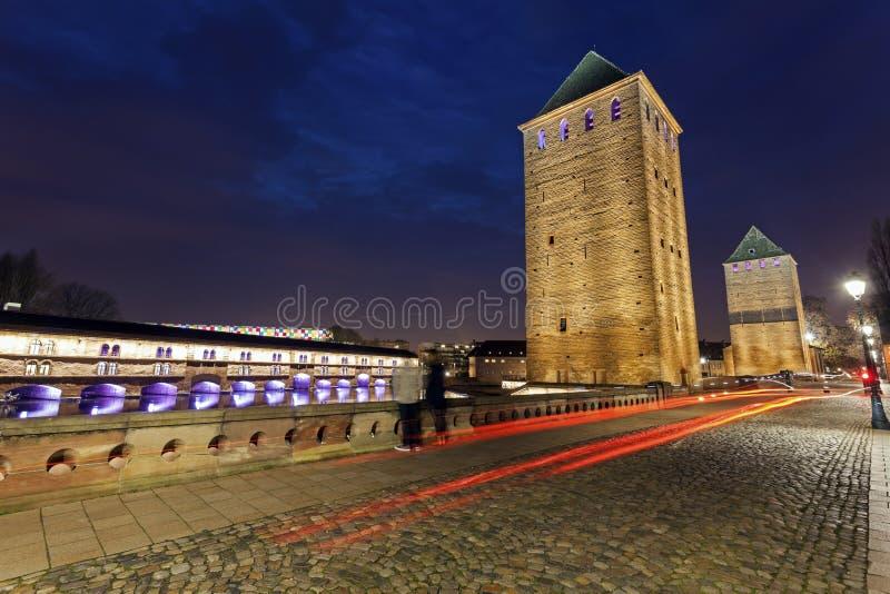 Ponts Couverts в Маленькая-Франции стоковые фото