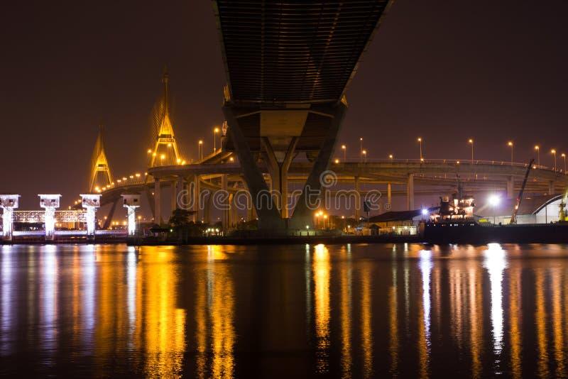 Ponts de Bhumibol photo libre de droits