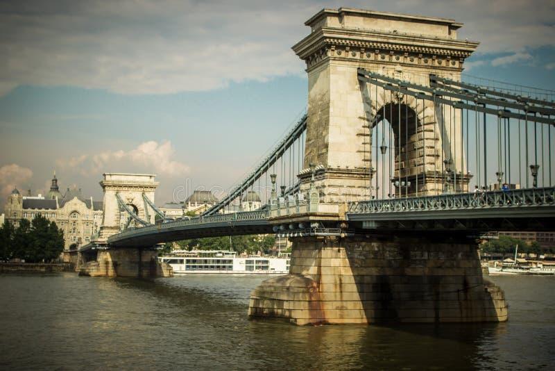 Ponts de Budapest, Hongrie images stock