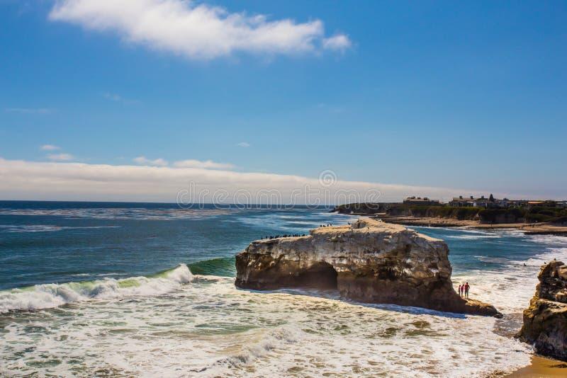 Ponts naturels Santa Cruz CA image libre de droits