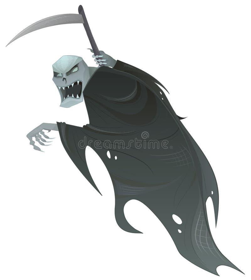 Ponura żniwiarka ilustracja wektor