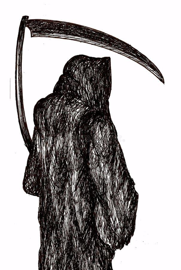ponura żniwiarka royalty ilustracja