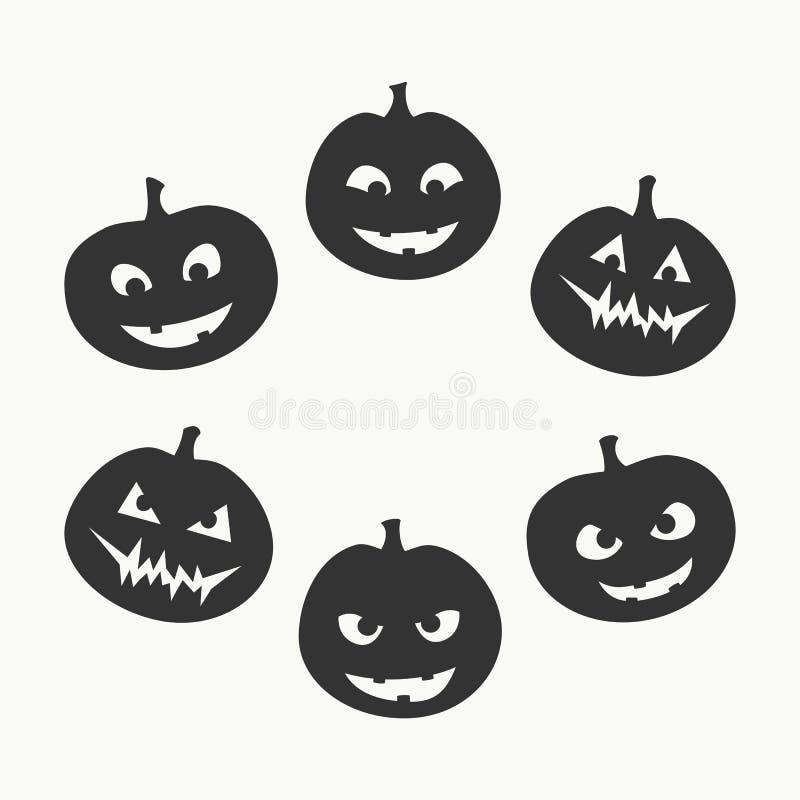ponurej Halloween ilustracyjnej żniwiarki ustalony guślarki wampira wektor royalty ilustracja