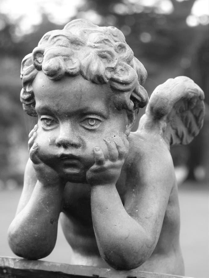 Glum Cupid zdjęcie royalty free