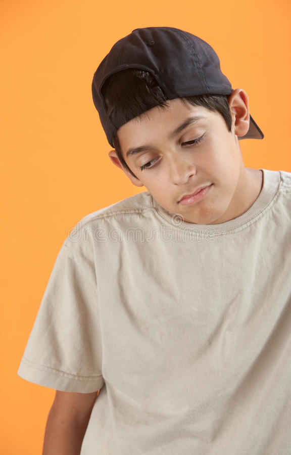 ponury nastolatek zdjęcia stock