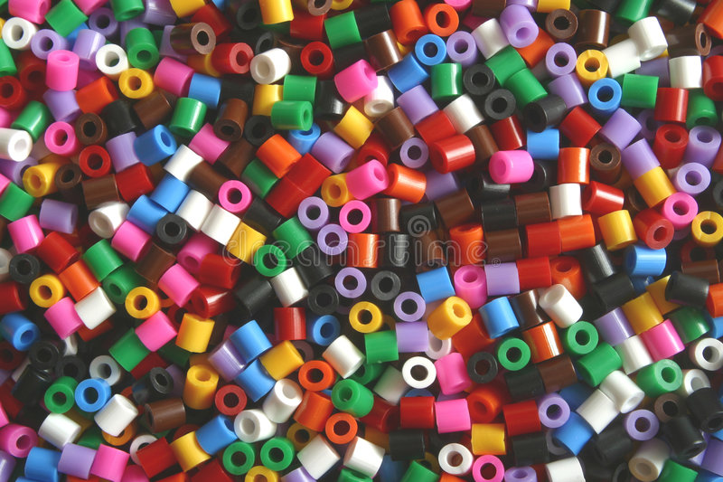 Pony beads royalty free stock photography