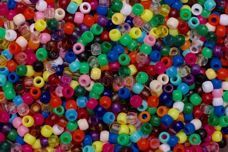 Pony beads royalty free stock photography