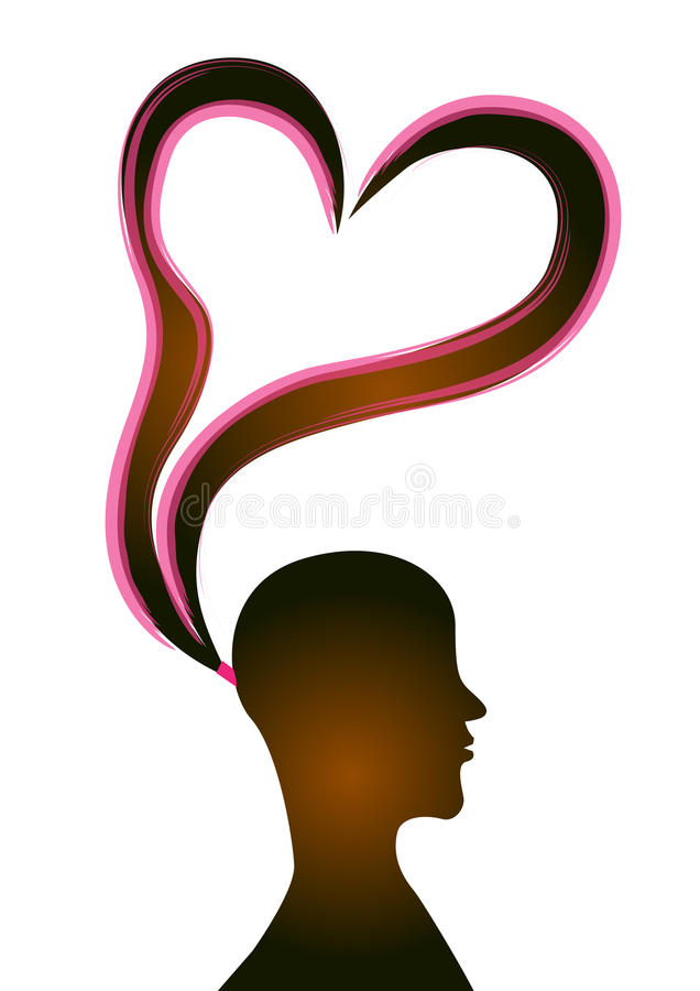 Download Pony tail stock illustration. Illustration of woman, lovely - 22033130