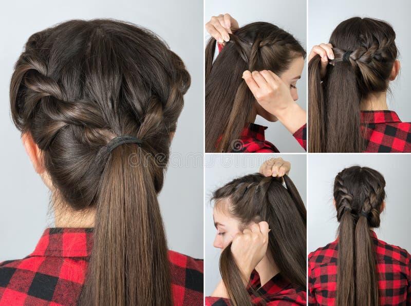 Simple Hairdo Self Tutorial Photos Free Royalty Free Stock Photos From Dreamstime