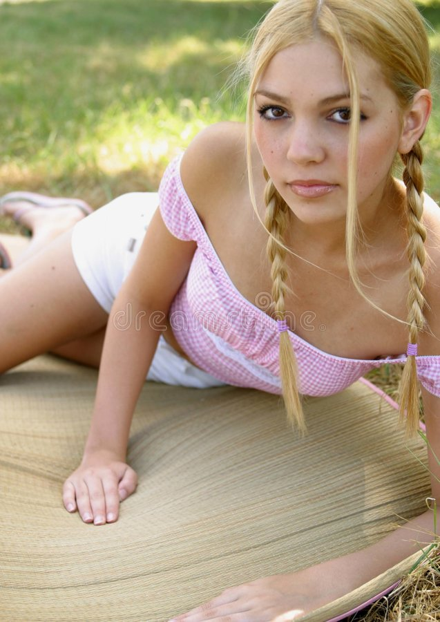 Download Pony Tail Portraits Stock Photos - Image: 2181833