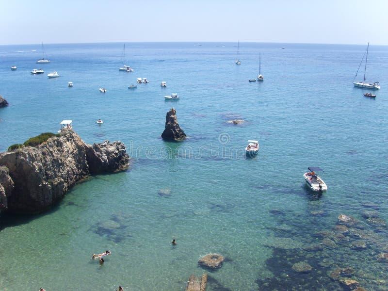 Ponza island stock photography