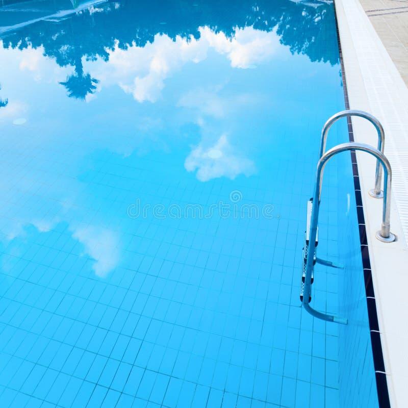 Poo de la natación imagenes de archivo