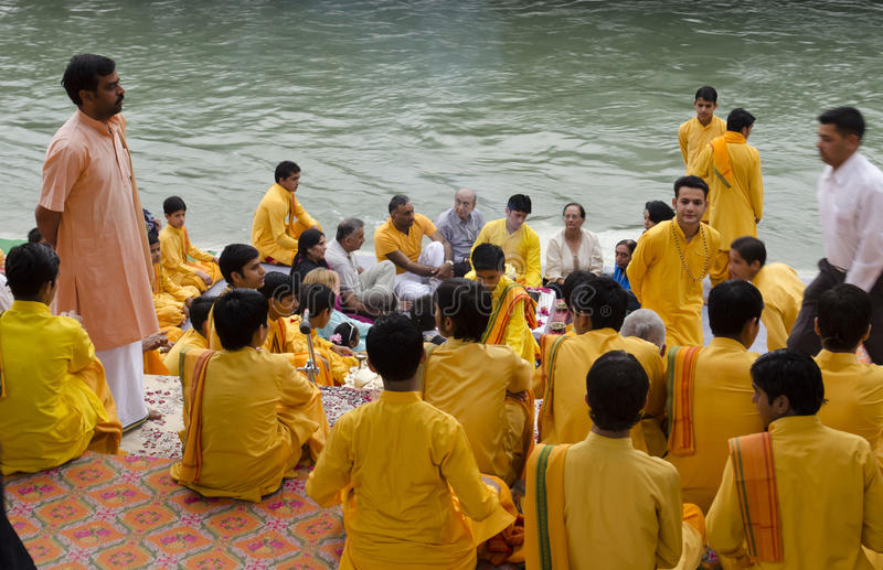 Pooja Ceremony royalty-vrije stock fotografie