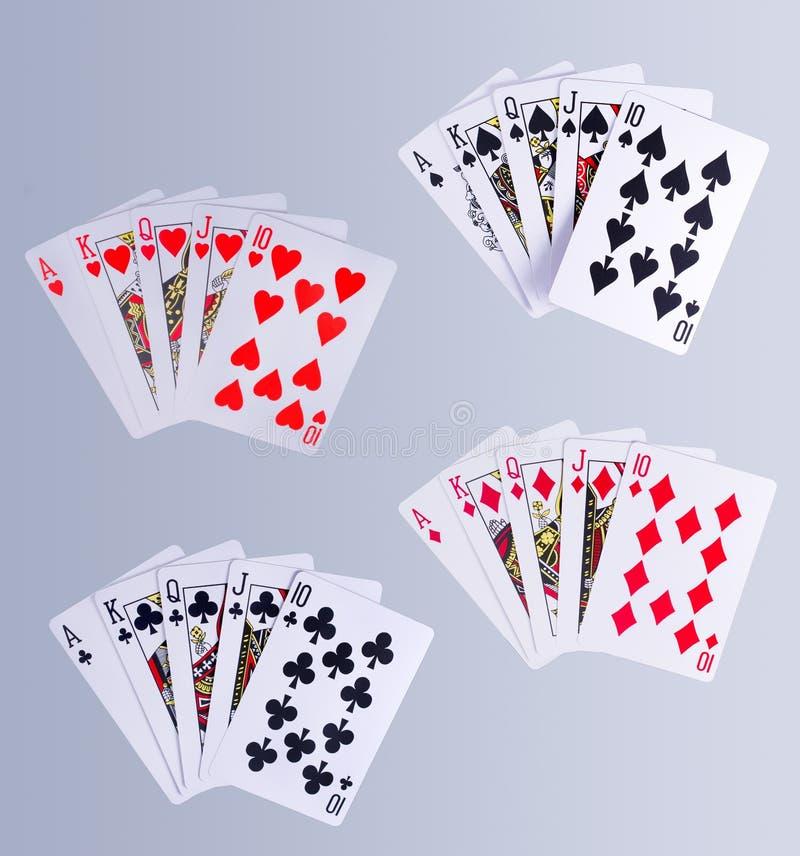 Pook Koninklijke Gelijke Speelkaarten stock illustratie