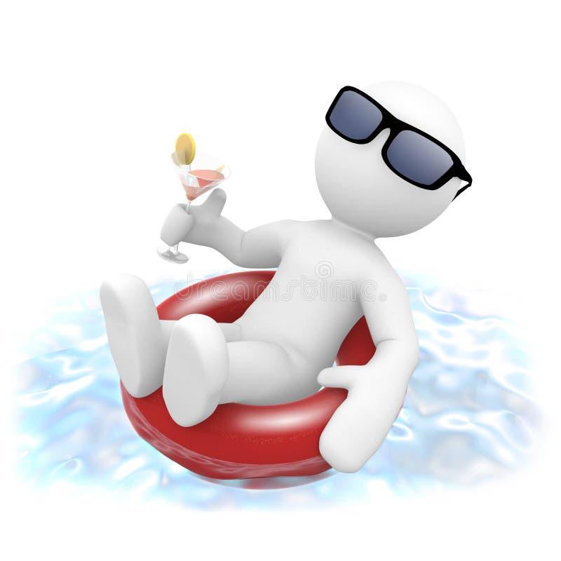Download Pool stock illustration. Illustration of swimming, summer - 11283085
