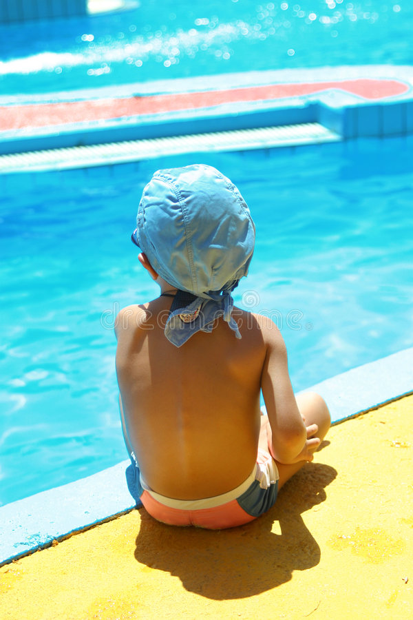 By The Pool Royalty Free Stock Photography