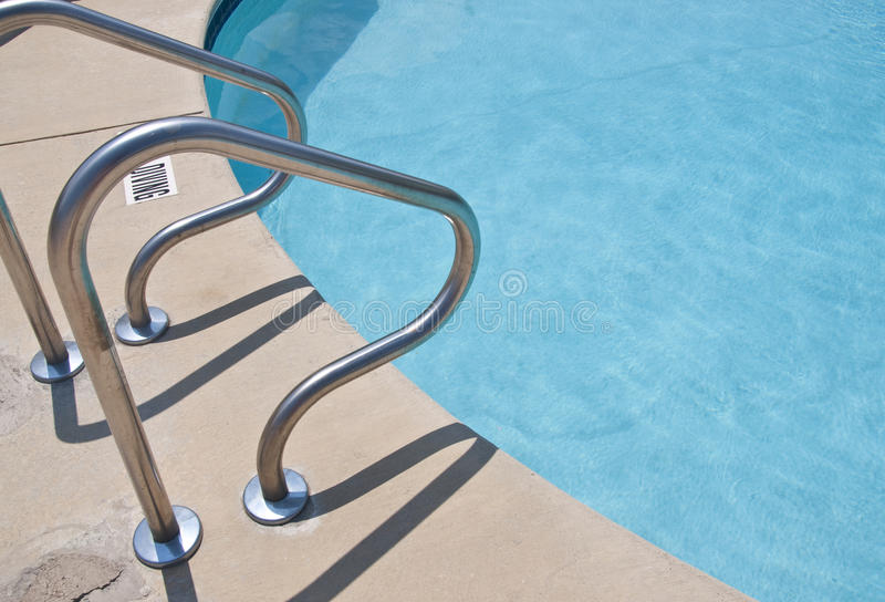 At The Pool Royalty Free Stock Photo