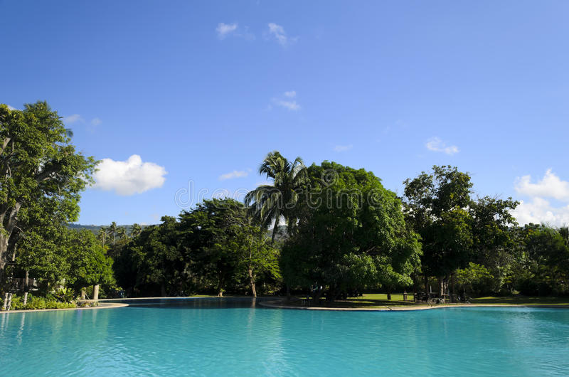 Download Pool stock image. Image of green, clouds, saturated, swimming - 25566769