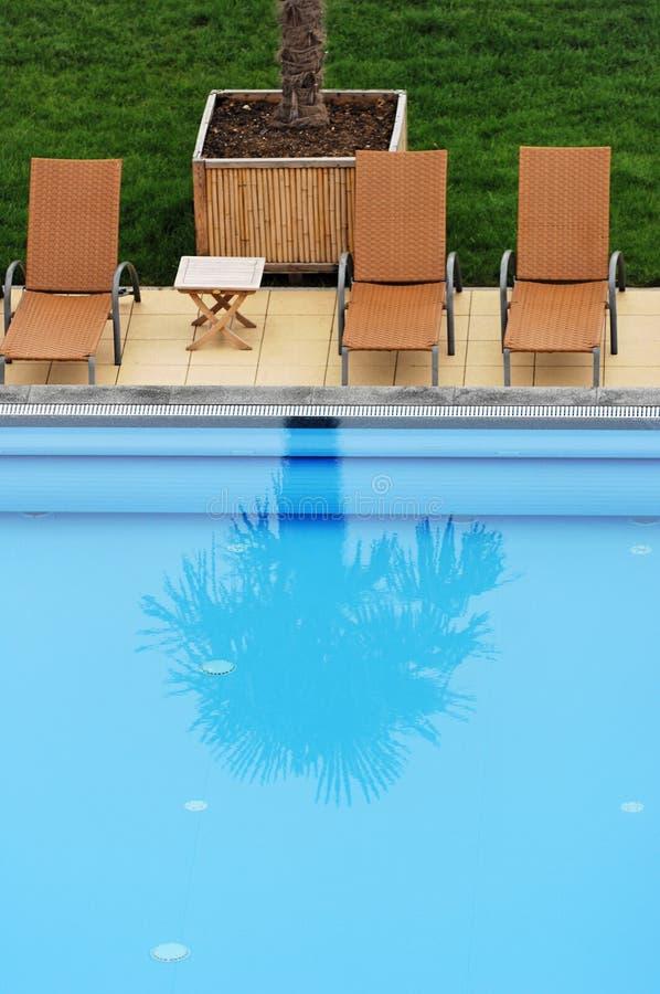 Pool royalty-vrije stock afbeelding