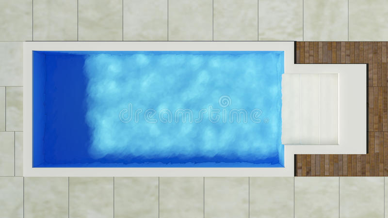 Pool stock illustration