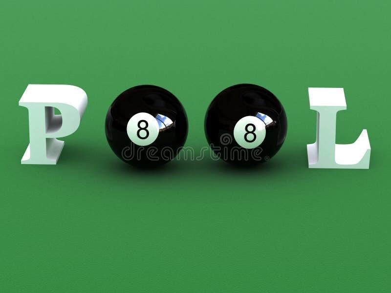 Download Pool stock illustration. Illustration of snooker, hobbies - 4141162