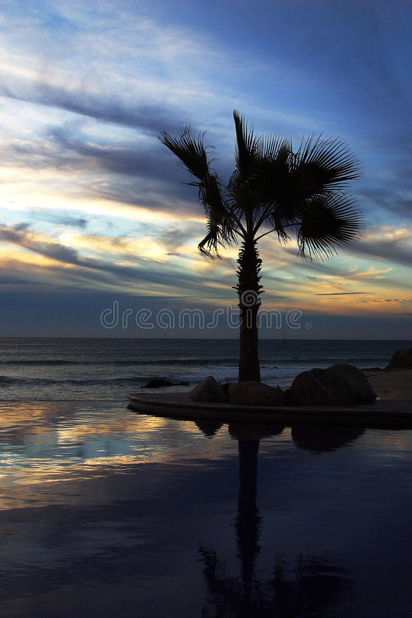 Download Pool stock photo. Image of beach, clouds, decoration, construction - 5396194