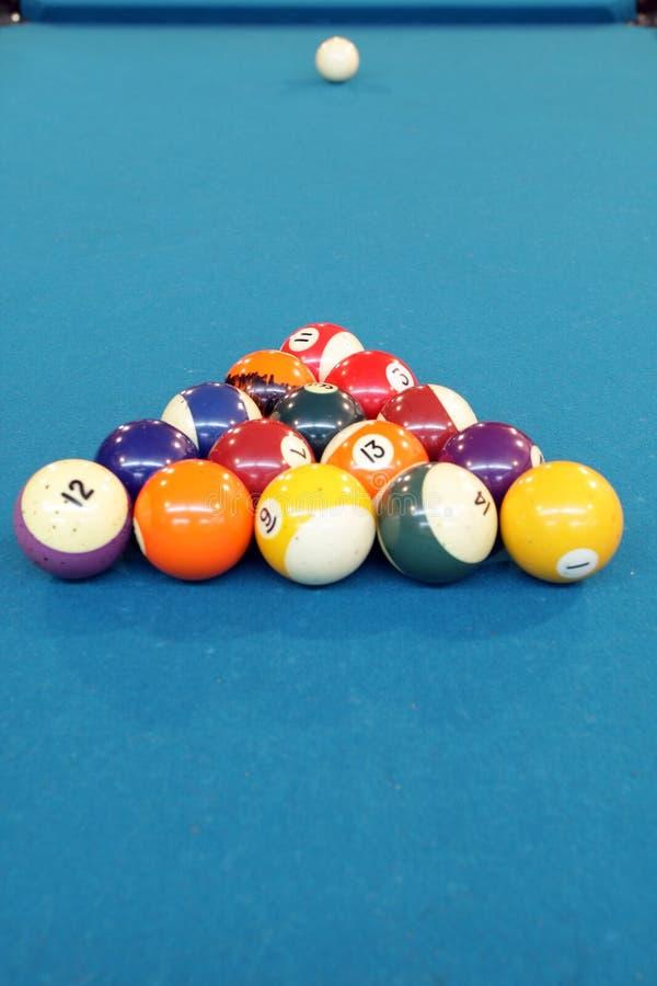 Pool ball stock photography