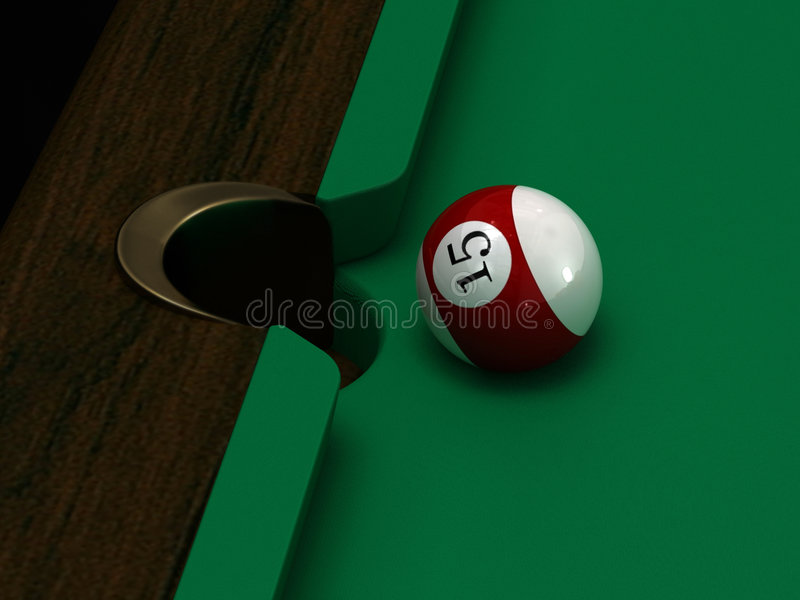 Pool Ball Royalty Free Stock Photo