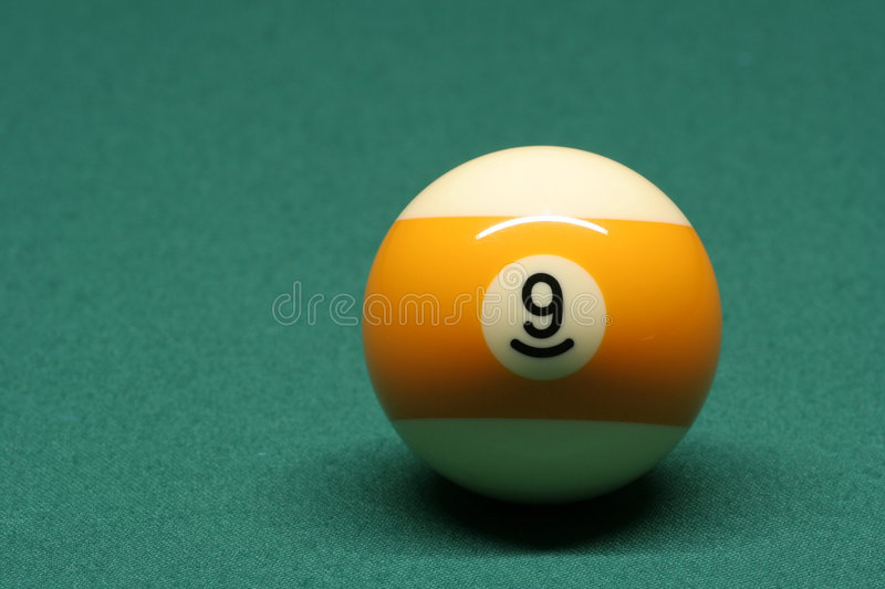 Download Pool Ball Number 09 Royalty Free Stock Photo - Image: 596535