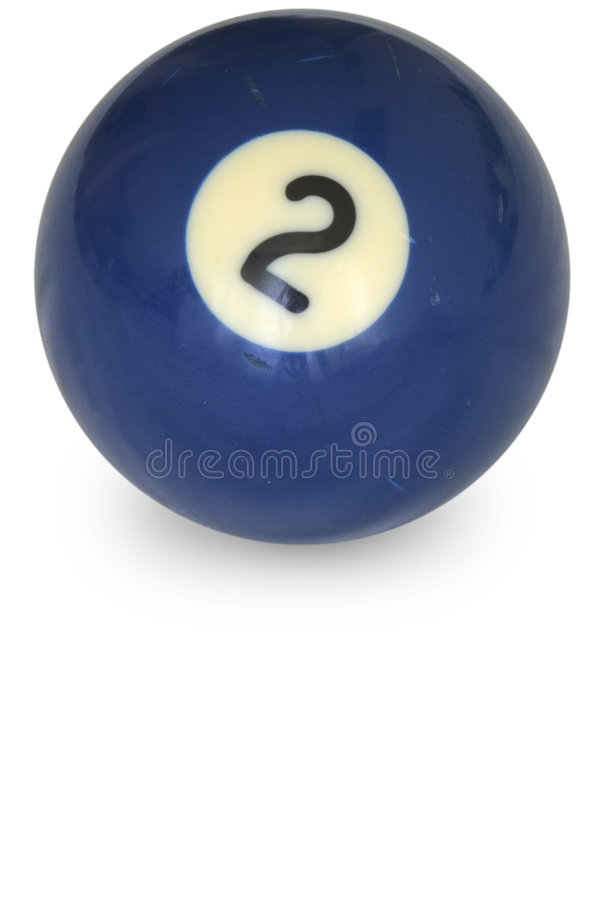 Download Pool ball number 2 stock image. Image of ball, object - 3150759