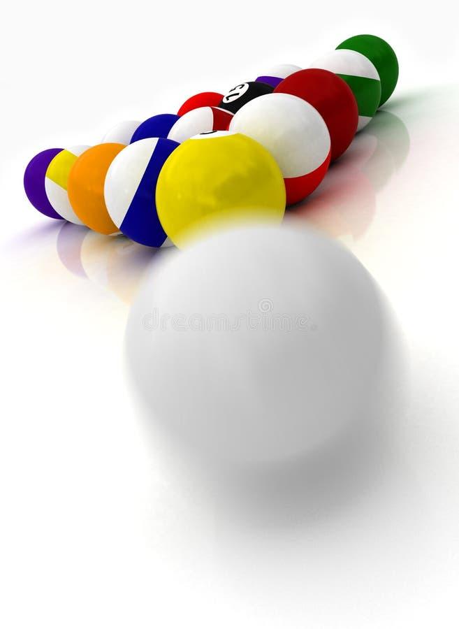 Free Pool Balls Stock Photography - 6531392