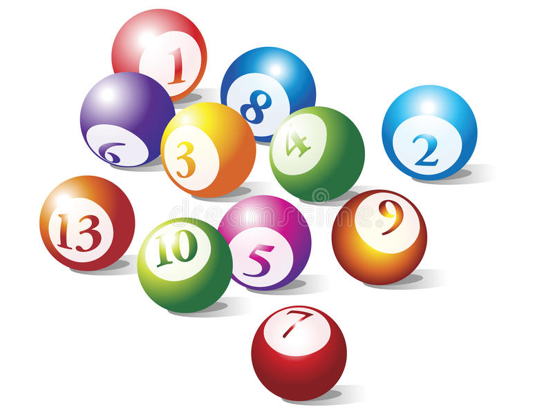 Download Pool balls composition stock vector. Illustration of entertainment - 16919494