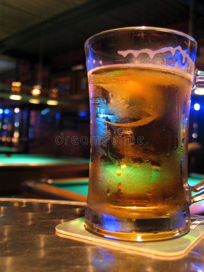 Download Pool Bar and Beer stock image. Image of drunk, pool, interior - 31125