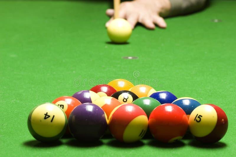 Pool break royalty free stock images