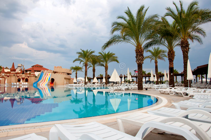 Download Pool On Cloudy Day, Turkey Stock Photos - Image: 26852843