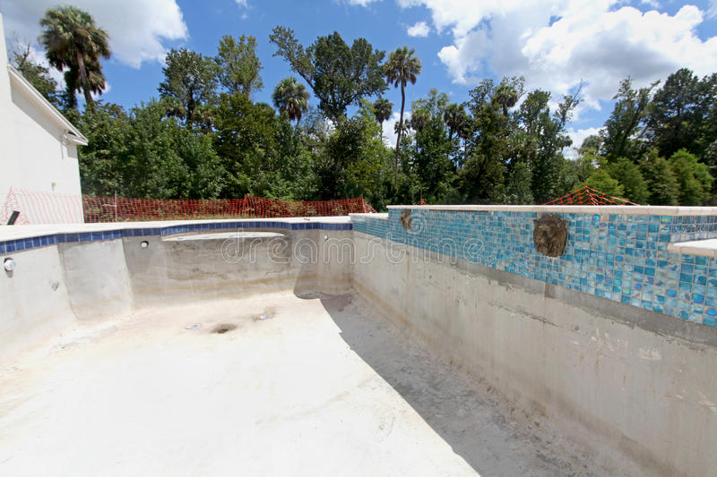 Download Pool Construction stock photo. Image of architecture - 22138744