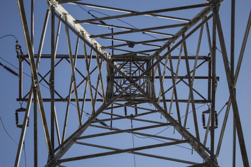 Download Pool De Met Hoog Voltage Van De Staalmacht Stock Afbeelding - Afbeelding bestaande uit ijzer, lijn: 114225763
