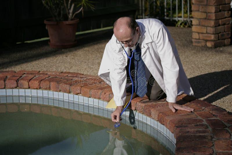 Pool Doctor stock photos