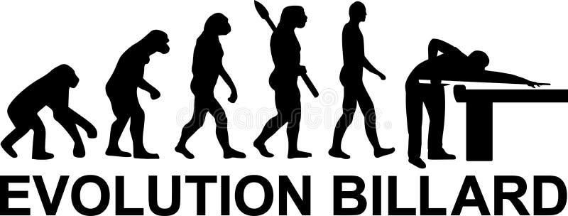 Pool Evolution Billard vector illustration