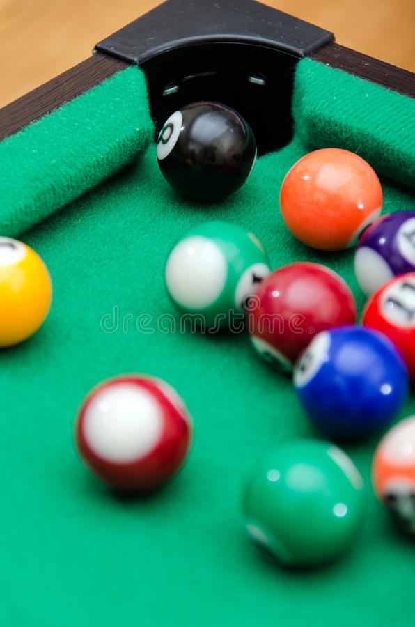 Download Pool game balls stock image. Image of felt, gambling - 28625403