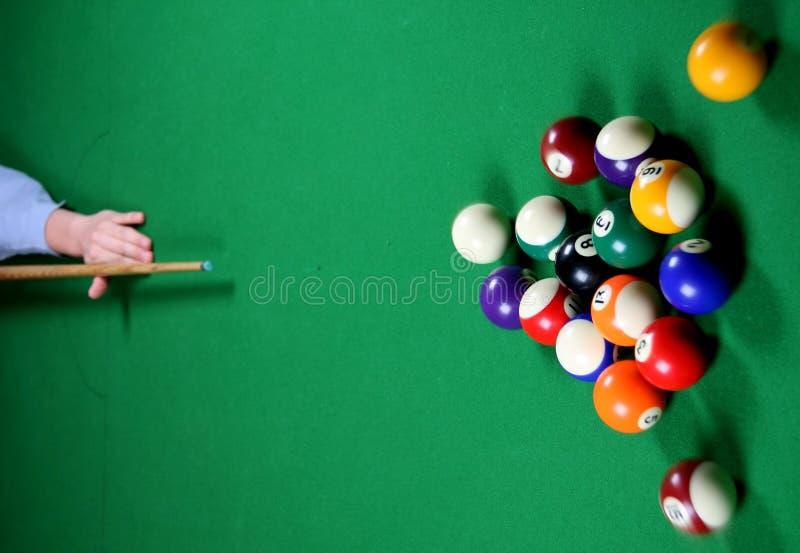 Pool Game Break stock images