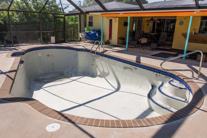 Pool gestalten im entstehen befindliches werk um stockbild bild von coping demolierung 60224283 - Pool gestalten ...