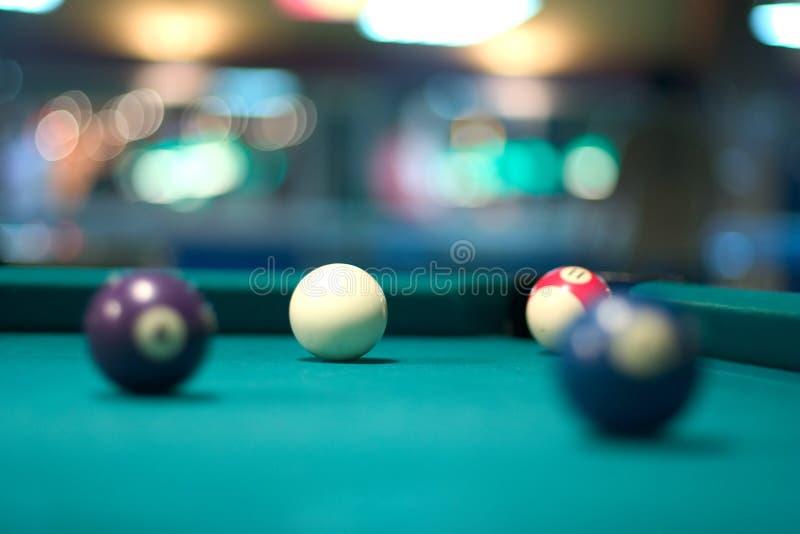 Pool-Kugeln stockbild