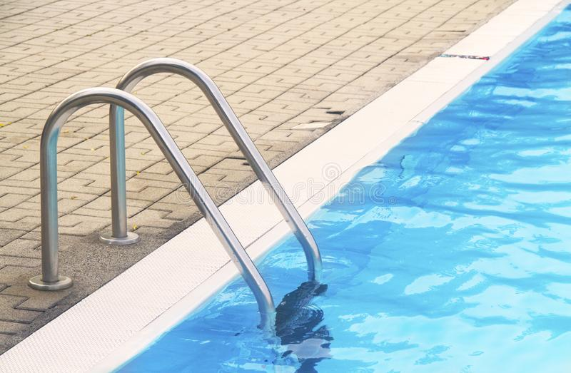 Download Pool ladder stock photo. Image of aqua, clean, sport - 15685290