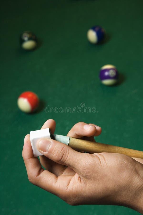 Pool-Marke-Kreiden lizenzfreies stockbild