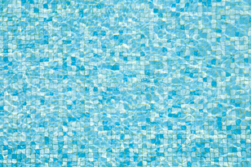 Pool mosaic texture stock photo image of footprint for Zwembad tegels