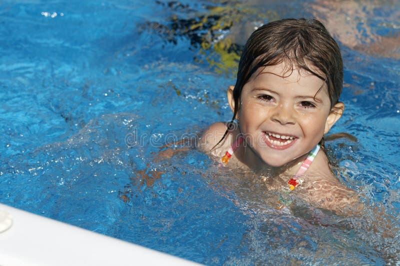 Pool play stock photo