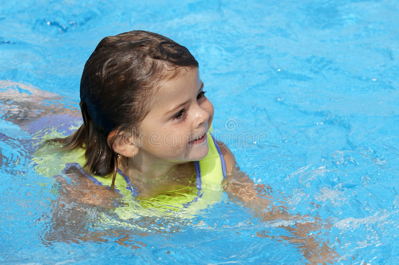 Pool play royalty free stock photos